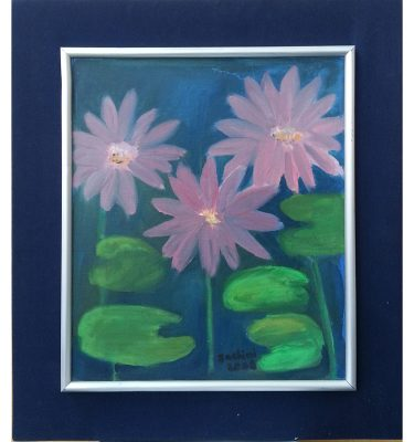 Pink flowers $60